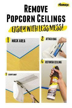 how to remove a popcorn ceiling yourself 25 best ideas about removing popcorn ceiling on