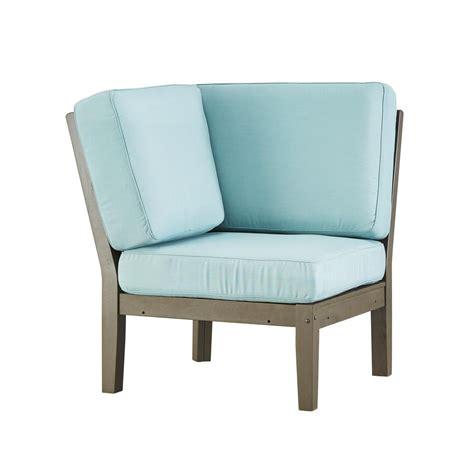 gray outdoor lounge chair homesullivan verdon gorge gray wood outdoor corner