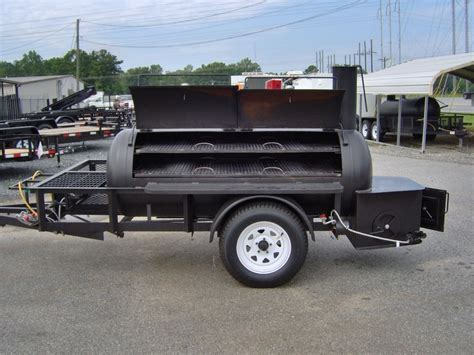 pit and bbq grill bbq pit smoker competition grill 5 x 10 trailer w gas fish