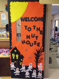 Decorating Door For Halloween Door Decoration For Halloween First Grade Halloween