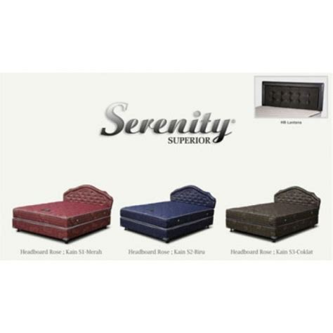 Serenity Springbed Superior Hanya Kasur 120x200 elite serenity superior elite springbed sion furniture