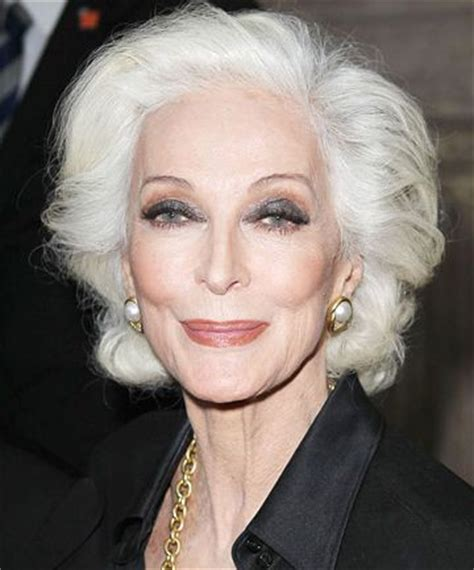 celebrities women grey hair in their 40s 337 best images about celebrity hairstyles on pinterest