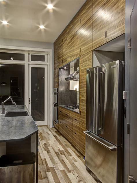 zebra wood cabinets kitchen modern photos hgtv