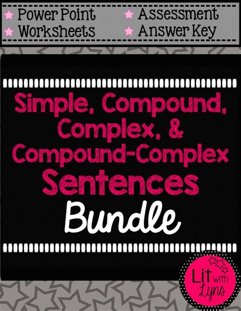 17 best ideas about complex sentence exles on