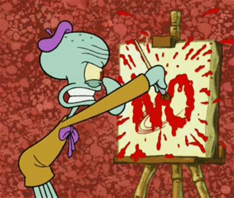 painting no painting no gif by spongebob squarepants find on