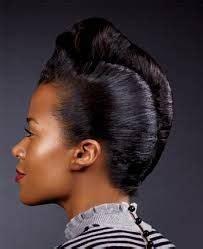 yolanda harris hair styles french roll protective hairstyle protective hairstyles
