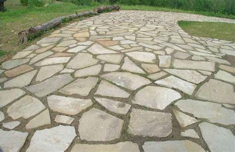 pavimento esterno pietra realizzare pavimenti in pietra pavimento da esterni