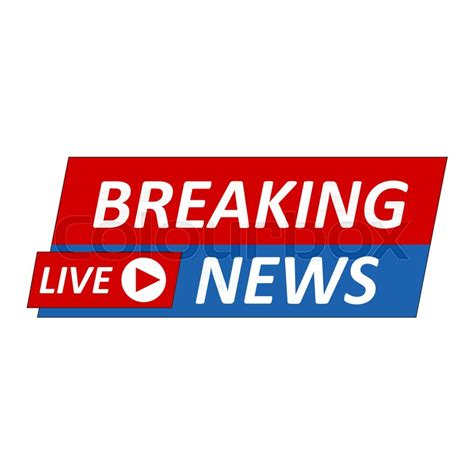 breaking news logo picture template banner breaking news logo live banner tv news mass media design