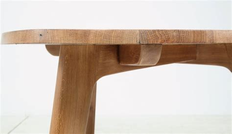 Triangular Dining Tables Triangular Oak Dining Table At 1stdibs
