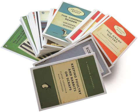 books on card postcards from penguin one hundred book covers in one box