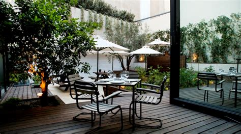 Contemporary Chairs For Dining Room 48 urban garden relaxed cool and tasteful the food