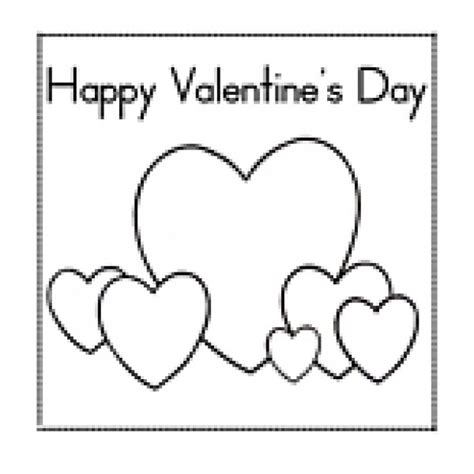 valentines card template free s day greeting card teaching