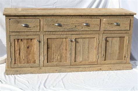 credenza vanity your custom made rustic barn wood entertainment center
