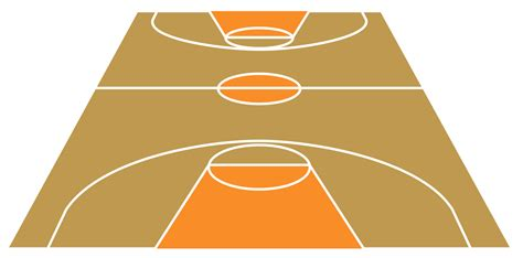 pin basketball court template on pinterest