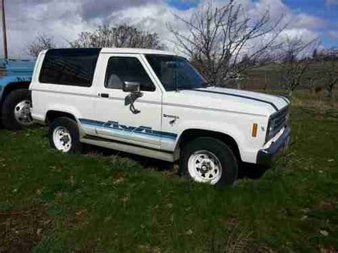 how it works cars 1984 ford bronco ii engine control purchase used 1984 ford bronco ii eddie bauer sport utility 2 door 2 8l in the dalles oregon