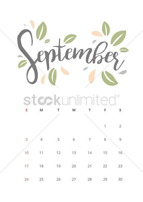 Calendar September 2017 To May 2018 September 2017 Calendar Vector Image 1940338