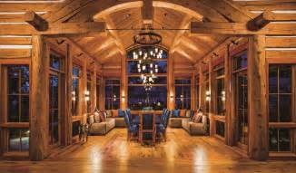 Log Home Kitchen Design Ideas of log cabin interior decorating ideas fabulous living rooms of log