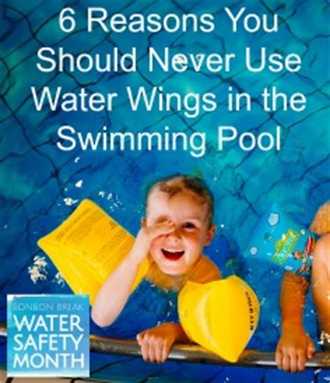 6 reasons you should never use water wings in the swimming pool philpott