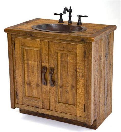 vanities rustic bathroom vanities barnwood vanities