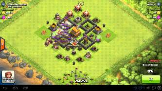 Clash of clans th4 base design