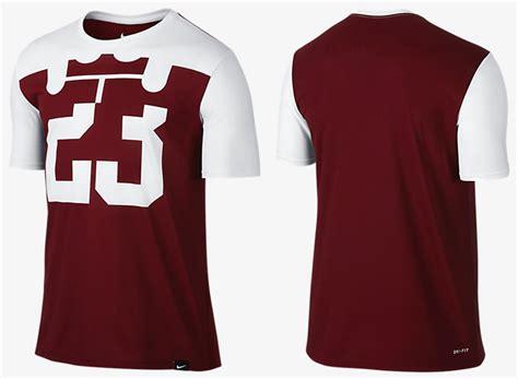 T Shirt Lebron Buy Side nike lebron 13 midnight navy team shirt sneakerfits