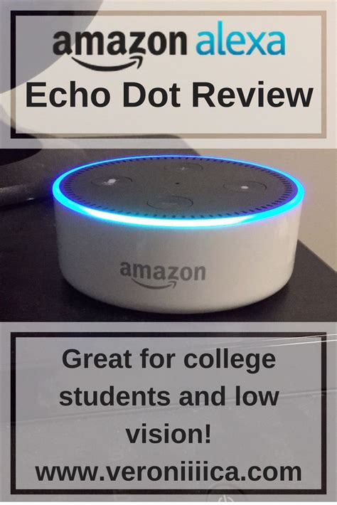 amazon echo dot review assistive technology for blind students families