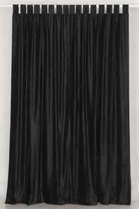 black velvet curtains black colors pinterest