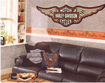 harley davidson wall decal harley davidson wallpaper borders wall decals and murals