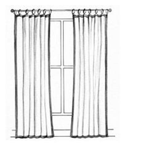 flat panel curtains floppy top panels on pinterest ruffle curtains in style