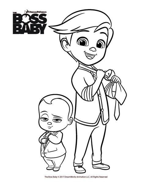 coloring pages of the name kate boss baby printables free coloring printables for the