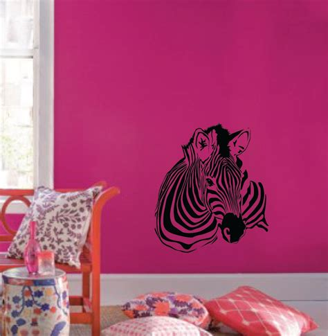 zebra pattern decor large wall zebra pattern nursery girls room decor decal