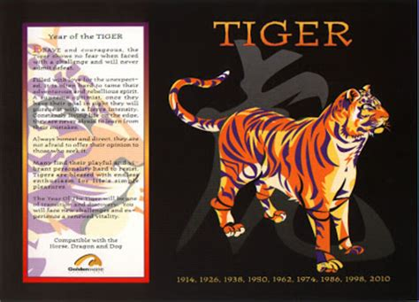 new year zodiac tiger the astrology october 2008