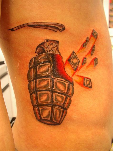grenade tattoos army tattoos and designs page 91