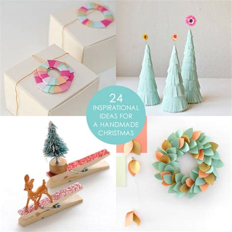 Creative Handmade Crafts - 24 craft tutorials for a handmade we