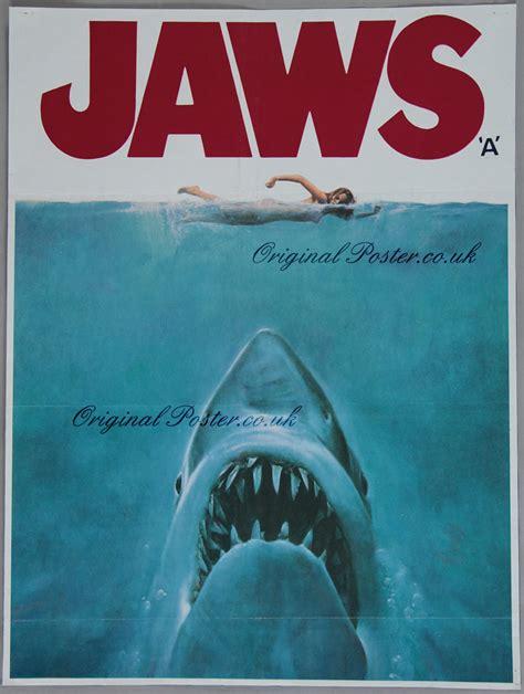 jaws original vintage poster original poster