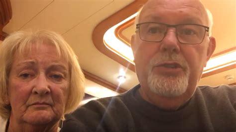 british couple quarantined  cruise ship diagnosed