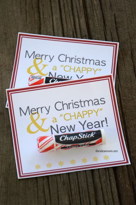 merry christmas a quot chappy quot new year gift idea the idea