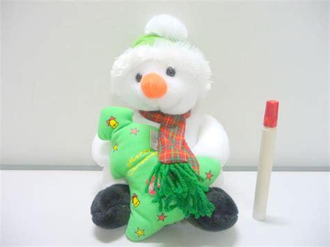 Boneka Natal Snowman gambar boneka natal lucu gambar boneka sumba toys