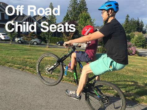 child seat for trail a bike road child seats the bike dads