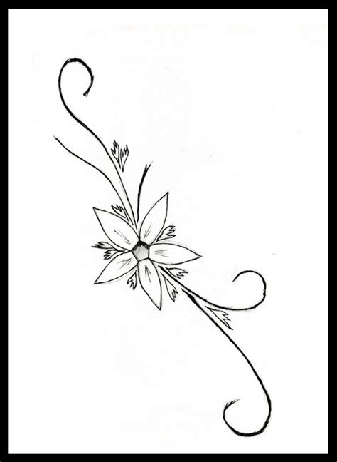 flower tattoo design simple small simple flower tattoo designs interior home design