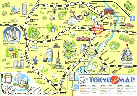 maps tokyo maps update 616665 tourist attractions map in japan and