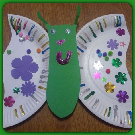 butterfly paper plate craft paper plate butterfly birthdays
