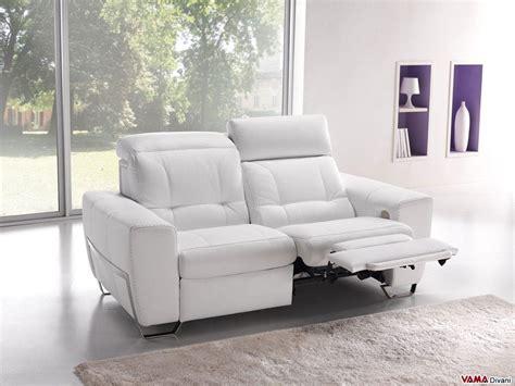 pelle divani divano in pelle con meccanismo relax elettrico autonomo