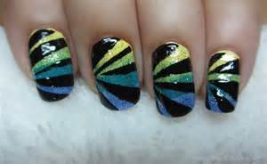 Art designs moreover easy nail art with tape furthermore easy nail art