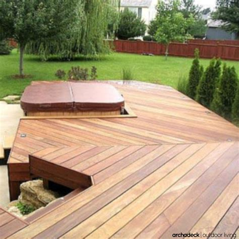 Other Words For Patio a multilevel deck separates different deck areas for