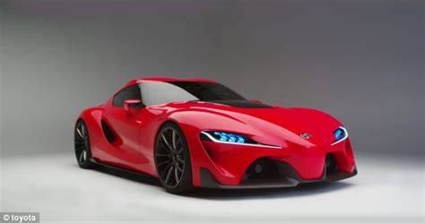Supercar Toyota Toyota Unveils Its Lt 1 Concept Car After Testing It In
