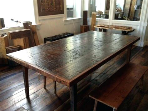 refurbished dining room tables dining table reclaimed wood dining tables calgary