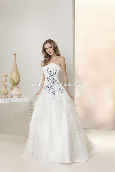 Cunning Light Blue Wedding Dress   Pink Wedding