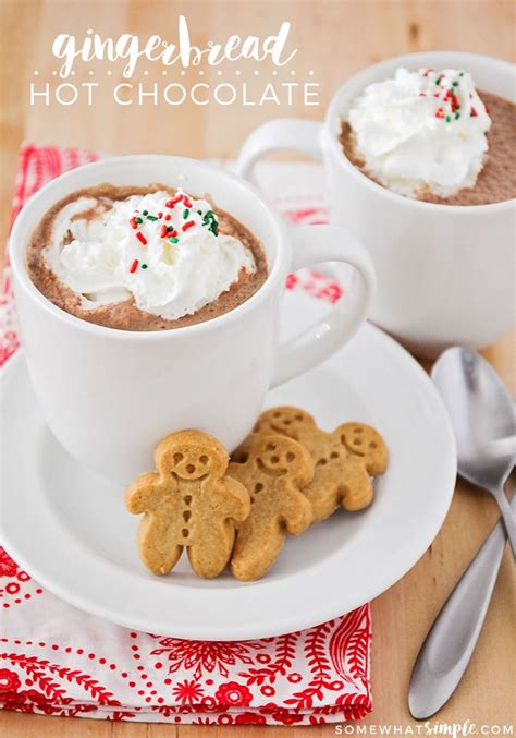 Celebrate The Season With Chocolate by Gingerbread Chocolate Recipe Somewhat Simple