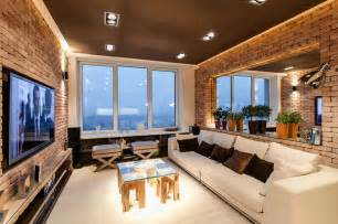 new homes interiors stylish laconic and functional new york loft style
